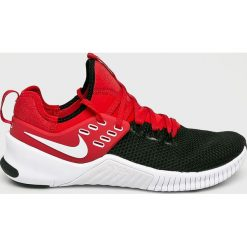 Nike - Buty Metcon Free. Szare halówki męskie Nike, z gumy, na sznurówki. W wyprzedaży za 429,90 zł.