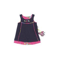 Sigikid  Girls Sukienka dwustronna peacoat - Gr.Moda (6 - 24 miesięcy ). Szare sukienki niemowlęce marki SIGIKID, z bawełny. Za 129,00 zł.