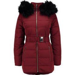 Płaszcze damskie: Miss Selfridge LONGLINE Płaszcz zimowy burgundy