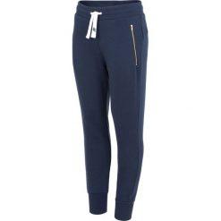 Spodnie dresowe damskie: Spodnie dresowe damskie SPDD003 – ciemny granatowy