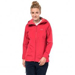 """Kurtka funkcyjna """"Sierra Pass"""" w kolorze czerwonym. Czerwone kurtki damskie marki Jack Wolfskin, xs, z materiału. W wyprzedaży za 469,95 zł."""