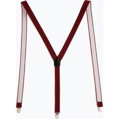 Finshley & Harding London - Szelki męskie, czerwony. Czarne szelki męskie marki BIG STAR, z gumy. Za 89,95 zł.