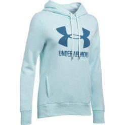 Bluzy sportowe damskie: Under Armour Bluza damska Favorite Fleece PO jasnoniebieska r.S (1302360-942)