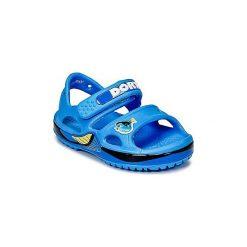 Sandały Dziecko  Crocs  Crocband II Finding Dory. Niebieskie sandały chłopięce marki Crocs. Za 104,30 zł.