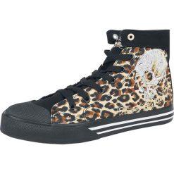Rock Rebel by EMP Walk The Line Buty sportowe cętki (lampart). Czarne buty sportowe damskie marki Vans, z motywem z bajki. Za 164,90 zł.