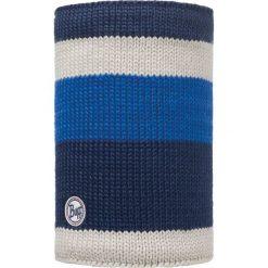 Szaliki męskie: Buff Komin Neckwarmer Buff Knitted Polar Fleece Berna Dark Navy wielokolorowy, roz. 29×25 (BUF113350.790.10.00)