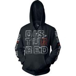 Disturbed Red R Bluza z kapturem czarny. Czarne bejsbolówki męskie Disturbed, m, z nadrukiem, z kapturem. Za 164,90 zł.