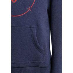 Roxy MOONISTHELIGHT Bluza z kapturem deep cobalt. Niebieskie bluzy dziewczęce rozpinane marki Roxy, z bawełny, z kapturem. W wyprzedaży za 134,10 zł.