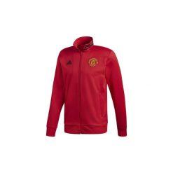 Bluzy dresowe adidas  Bluza dresowa Manchester United 3-Stripes. Niebieskie bluzy dresowe męskie marki Adidas, m. Za 249,00 zł.