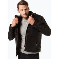 Van Graaf - Męska kurtka skórzana, czarny. Czarne kurtki męskie Van Graaf, m. Za 799,95 zł.