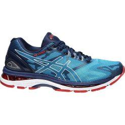 Buty sportowe męskie: Asics Buty męskie  Gel Nimbus 19 niebieskie r. 41.5 (T700N-4301)