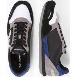 Tenisówki męskie: Emporio Armani Tenisówki i Trampki black/blue/grey
