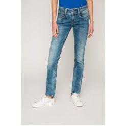 Pepe Jeans - Jeansy Gen. Niebieskie jeansy damskie rurki Pepe Jeans. W wyprzedaży za 269,90 zł.