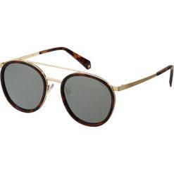 Polaroid Okulary przeciwsłoneczne dark havana. Brązowe okulary przeciwsłoneczne damskie Polaroid. Za 269,00 zł.