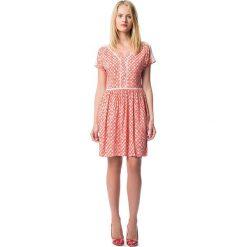 Sukienki hiszpanki: Sukienka krótka, wzorzysta rozszerzana, rozkloszowana
