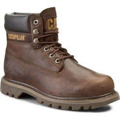 Trapery CATERPILLAR - Colorado P710652  Chocolate. Brązowe glany męskie marki Caterpillar, z materiału. W wyprzedaży za 379,00 zł.