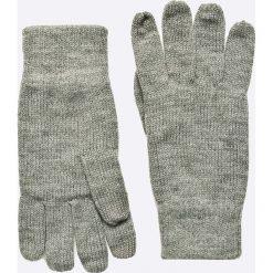 Jack & Jones - Rękawiczki. Czarne rękawiczki męskie marki Jack & Jones, l, z bawełny, z klasycznym kołnierzykiem, z długim rękawem. W wyprzedaży za 34,90 zł.