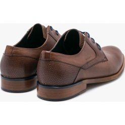 Wojas - Półbuty. Czarne buty wizytowe męskie marki Kazar. W wyprzedaży za 314,91 zł.