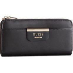 Duży Portfel Damski GUESS - SWSB64 22520 BLA. Czarne portfele damskie marki Guess, z aplikacjami, ze skóry ekologicznej. Za 259,00 zł.