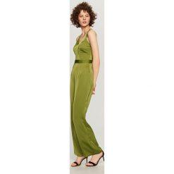 Kombinezony damskie: Zielony kombinezon – Khaki