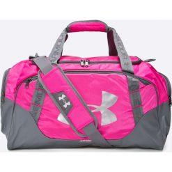 Under Armour - Torebka. Fioletowe torebki klasyczne damskie marki Under Armour, w paski, z materiału. W wyprzedaży za 159,90 zł.