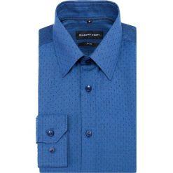 Koszula SIMONE KDGS000339. Czarne koszule męskie na spinki marki Giacomo Conti, m, z bawełny, z klasycznym kołnierzykiem. Za 199,00 zł.