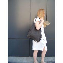Torebki i plecaki damskie: Czekolada skórzana torba na ramię