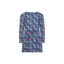 Name it  Girls Sukienka Velvet ensign blue - niebieski - Gr.Moda (6 - 24 miesięcy ). Niebieskie sukienki niemowlęce marki Name it, z bawełny. Za 45,00 zł.