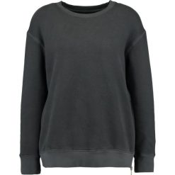 Bluzy rozpinane damskie: Sundry DOUBLE  Bluza soft black