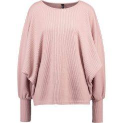 Swetry klasyczne damskie: YAS YASFLOSS LOOSE  Sweter adobe rose