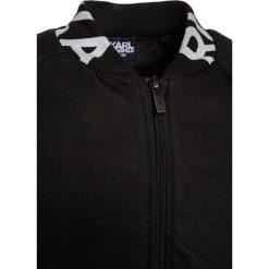 Bluzy dziewczęce: KARL LAGERFELD Bluza rozpinana schwarz