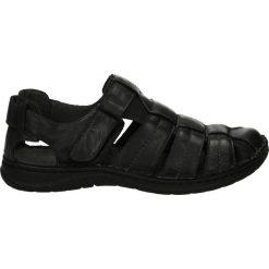 Sandały męskie skórzane: Sandały męskie - 54120910 N W7
