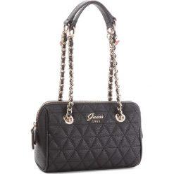Torebka GUESS - HWVG69 88760 BLA. Czarne torebki klasyczne damskie Guess, z aplikacjami, ze skóry ekologicznej. Za 449,00 zł.
