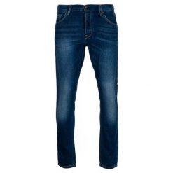 Mustang Jeansy Męskie Tapered 33/32 Ciemnoniebieski. Czarne jeansy męskie z dziurami marki Mustang, l, z bawełny, z kapturem. Za 349,00 zł.