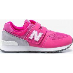 Buty sportowe dziewczęce: New Balance – Buty dziecięce YV574D6