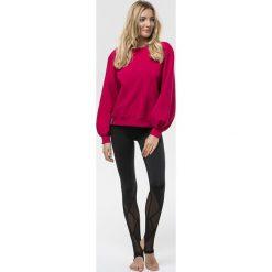 Cardio Bunny - Bluza Bell. Czerwone bluzy sportowe damskie marki Cardio Bunny, l, z bawełny. W wyprzedaży za 99,90 zł.
