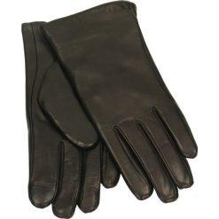 Rękawiczki damskie. Czarne rękawiczki damskie Gino Rossi, ze skóry. Za 139,90 zł.