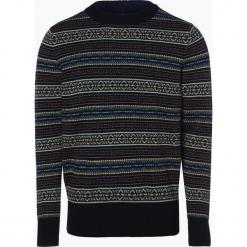 Tommy Hilfiger - Sweter męski, niebieski. Czarne swetry klasyczne męskie marki TOMMY HILFIGER, l, z dzianiny. Za 449,95 zł.