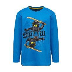 """T-shirty chłopięce z długim rękawem: Koszulka """"M-72171"""" w kolorze niebieskim"""