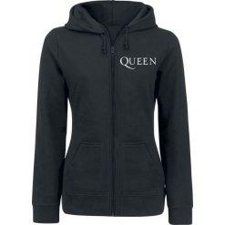 Queen Crest Vintage Bluza z kapturem rozpinana damska czarny. Czarne bluzy rozpinane damskie marki Queen, m, z kapturem. Za 184,90 zł.
