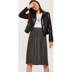 Spódniczki: Plisowana spódnica – Szary
