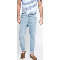 Review - Jeansy. Niebieskie jeansy męskie slim Review, z bawełny. W wyprzedaży za 99,90 zł.