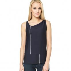 Sweter w kolorze granatowym. Szare swetry klasyczne damskie marki Silvian Heach, l, z dzianiny, z włoskim kołnierzykiem. W wyprzedaży za 329,95 zł.