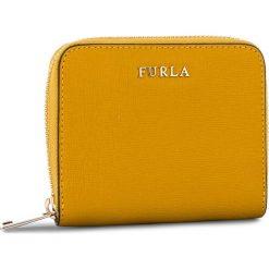 Mały Portfel Damski FURLA - Babylon 979024 P PR84 B30 Ginestra e. Żółte portfele damskie Furla, ze skóry. Za 505,00 zł.