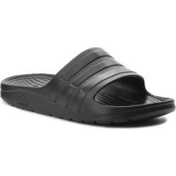 Klapki adidas - Duramo Slide S77991 Cblack/Cblack/Cblack. Czarne klapki męskie marki Adidas, z tworzywa sztucznego. Za 79,95 zł.