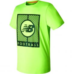 Koszulka treningowa MT732053EGL. Zielone koszulki sportowe męskie New Balance, na jesień, m, z materiału. W wyprzedaży za 99,99 zł.