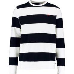 Bejsbolówki męskie: HUF CATALINA STRIPE CREW  Bluza black