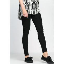 Spodnie damskie: Czarne Spodnie Love Is Calling