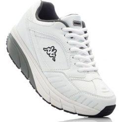 Buty sportowe Kappa bonprix biało-szary. Białe buty sportowe męskie marki bonprix. Za 139,99 zł.
