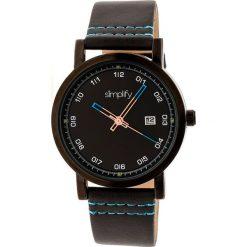 """Zegarki męskie: Zegarek kwarcowy """"the 5300"""" w kolorze czarnym"""